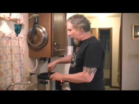 Cooking a Whole Chicken in a Cuisinart Pressure Cooker....this guy cracked me up!