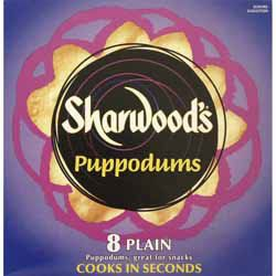 Plain Poppadoms - Sharwoods