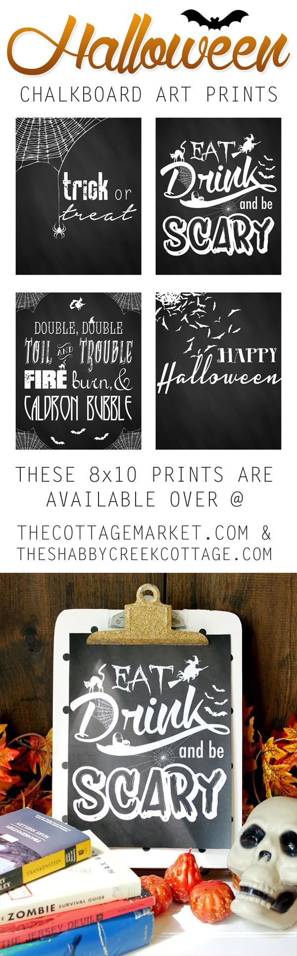 top running shoes for plantar fasciitis Free Printable Halloween Chalkboard Art   The Cottage Market