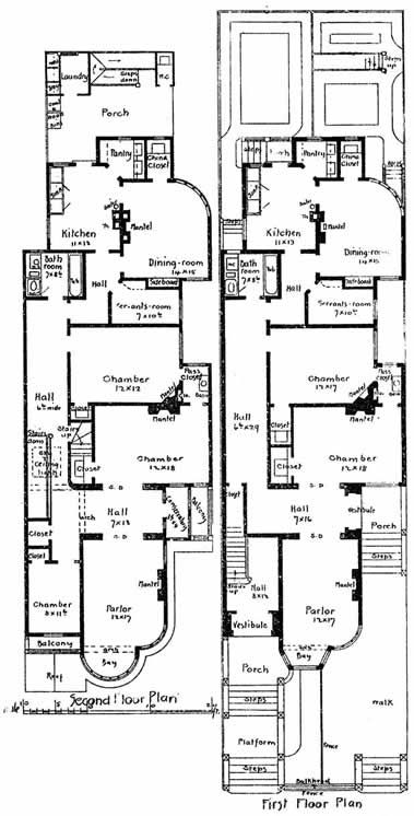 17 best images about houses on pinterest queen anne for 1890 house plans