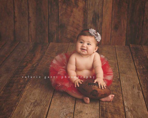 BABY-Fußball-TUTU-Set Baby Fußball Outfit Ohio von LilPinkGoose