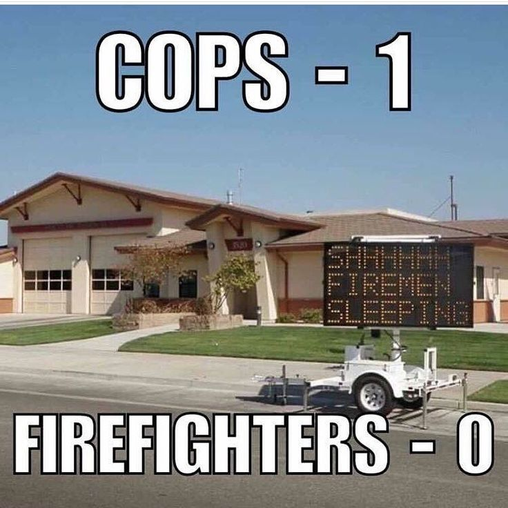Police <-> firedepartment