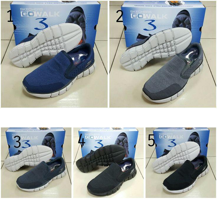 Sepatu Skechers Men Go Walk 4808 40-44 380rb