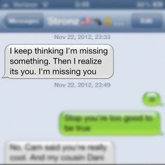 sweet text messages him