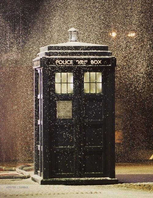 It's a Dr Who Christmas
