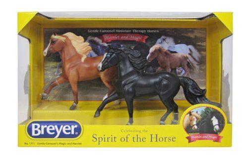 Breyer Gentle Carousel Magic and Hamlet Miniature Therapy Horses Breyer http://www.amazon.com/dp/B00GEK0O10/ref=cm_sw_r_pi_dp_AorYvb0HYJ3RW