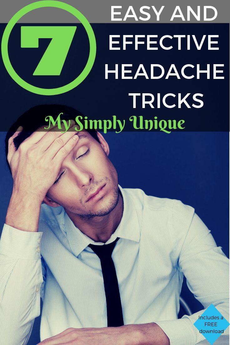 Headache Relief Tricks Headache Relief How To Relieve Headaches Migraine