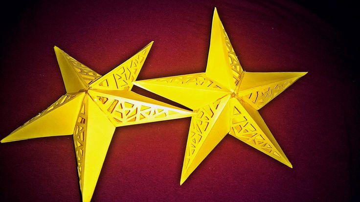 Csillag papírból