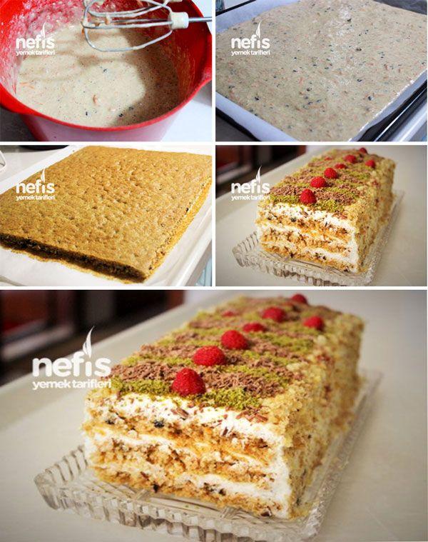 Havuçlu Pasta Yapılışı