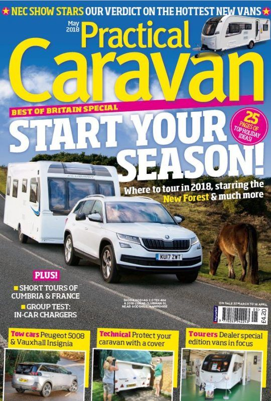 Practical Caravan May 2018 Caravan Britain Great Britain