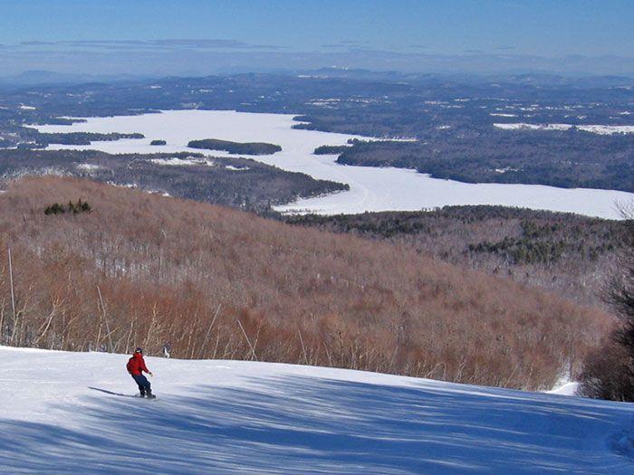 Lake Sunapee and Mount Sunapee, Newbury, New Hampshire
