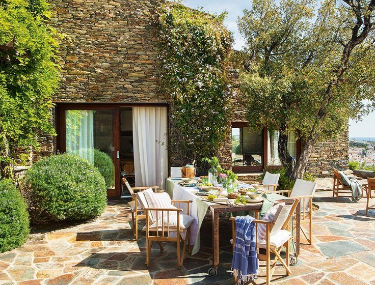 M s de 20 ideas incre bles sobre porches r sticos en - Casa rural cadaques ...