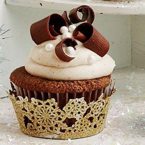 Chocolate Velvet Cupcakes   MyRecipes.com