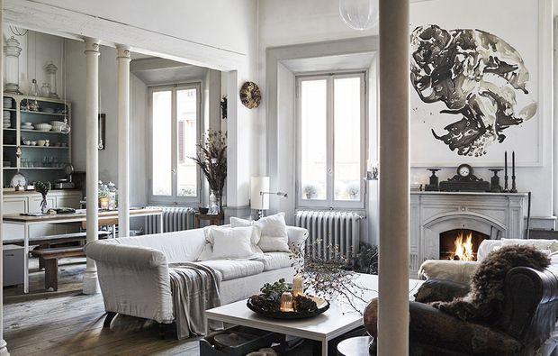 Oltre 1000 idee su soggiorno open space su pinterest - Dividere cucina e soggiorno ...