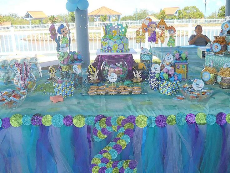 Bubble Guppies, Under the Sea Birthday Party Ideas | Photo 9 of 16 | Catch My Party
