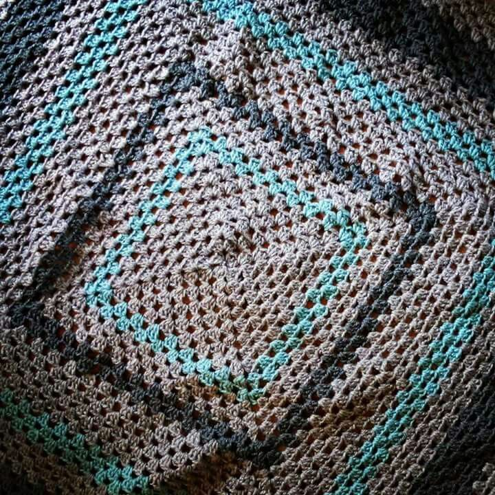 Baby blanket. Crochet beauty