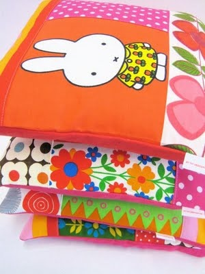 Jane Foster Blog: Patchwork Miffy cushions