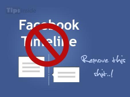 Remove Facebook TimelineRemoval Facebook, Facebook Timeline