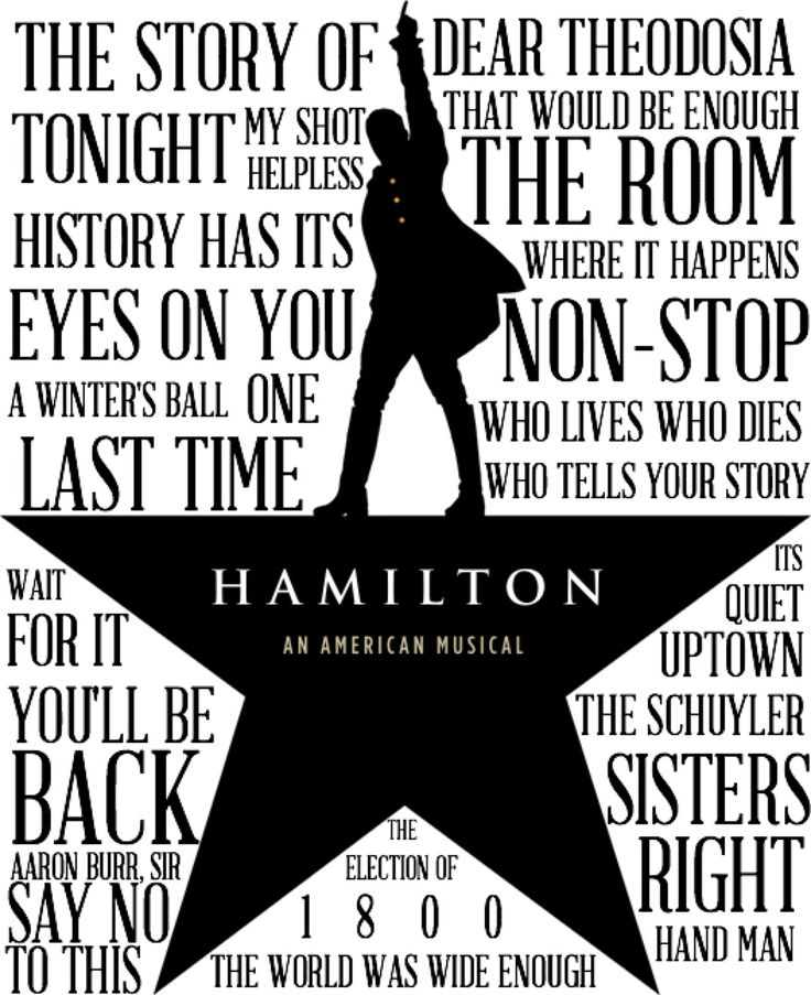 hamilton musical logo - Google Search