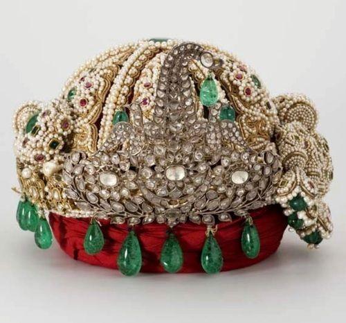 Nepalese turban crown, 19th century.