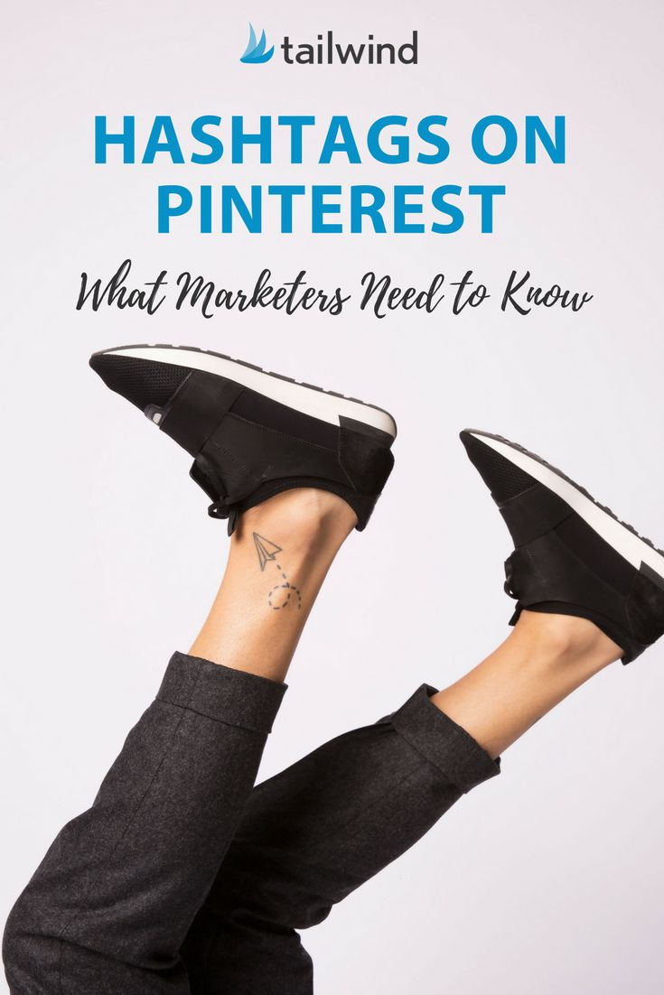 """Hashtags on Pinterest?! Who would've believed it? What you need to know (besides """"use them""""!). #pinteresthashtags #pinterestmarketing #pinterestmarketingtips via @tailwind"""