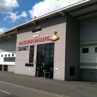 Keepmoat Stadium, Doncaster. Love the car boot sales there.