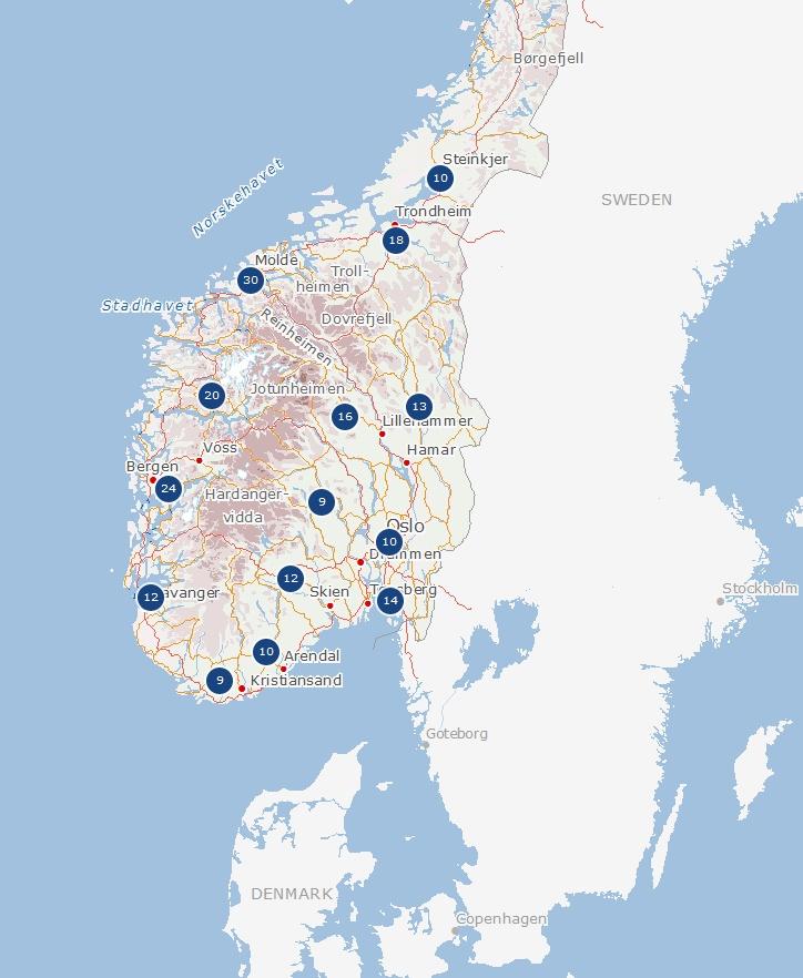 Oltre Fantastiche Idee Su Norway Map Su Pinterest Norvegia - Norway map stavanger
