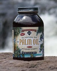 More on unrefined red palm oil.