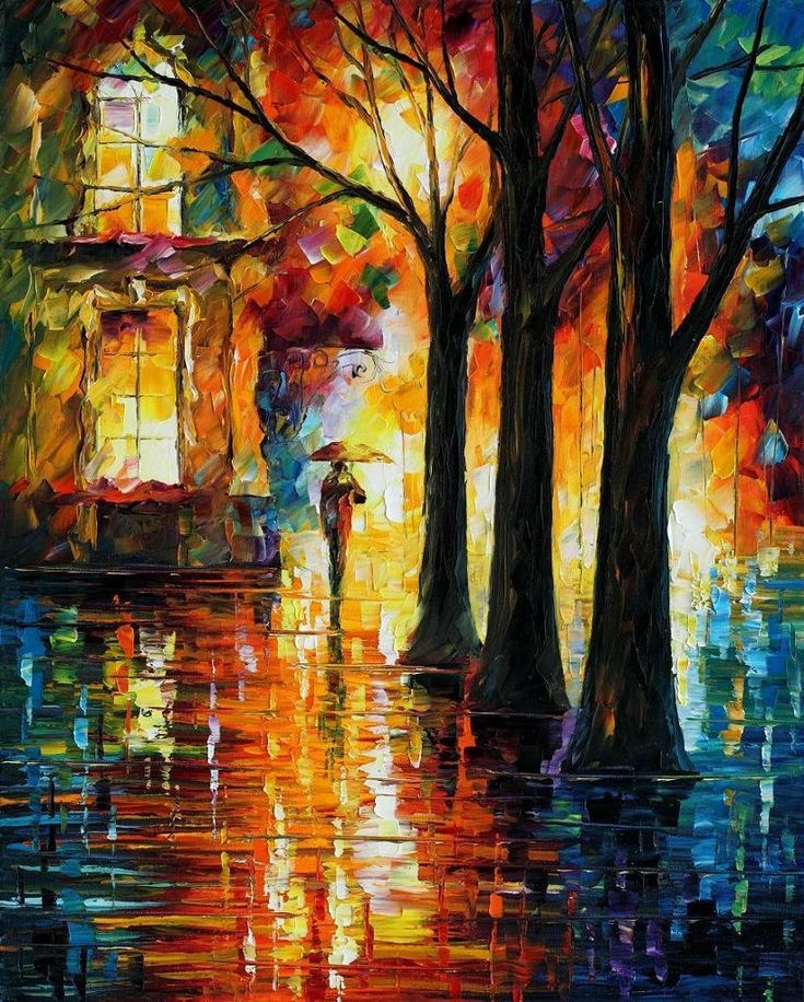 The modern impressionistic art of colors by Leonid Afremov                                                                                                                                                                                 More