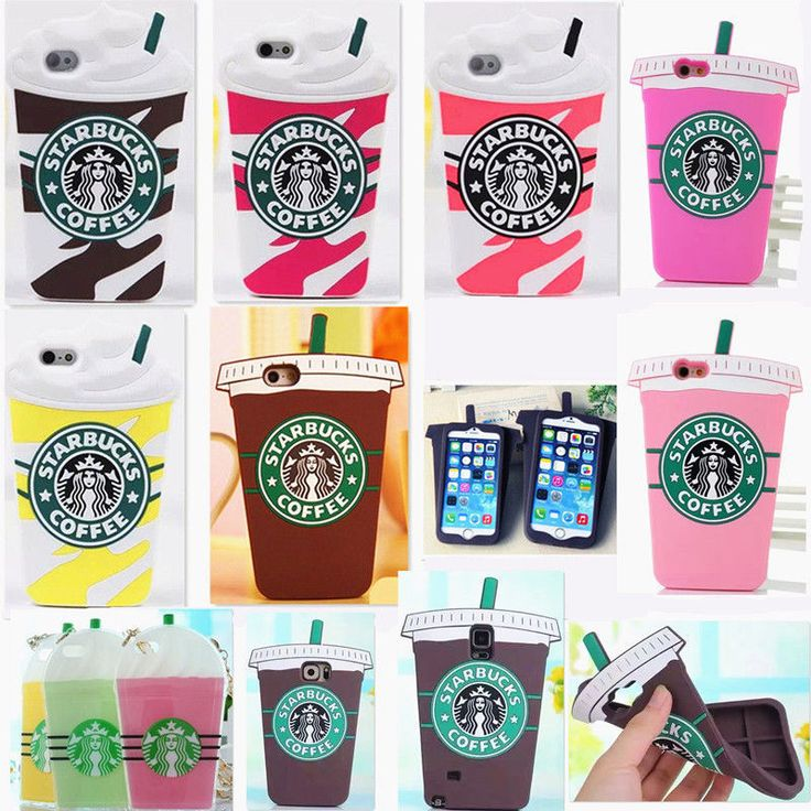 Starbucks 3D Silicone Coffee Cup Phone Case Cover For iPhone 5S/C 6/6+ Samsung in Cell Phones & Accessories, Cell Phone Accessories, Cases, Covers & Skins   eBay