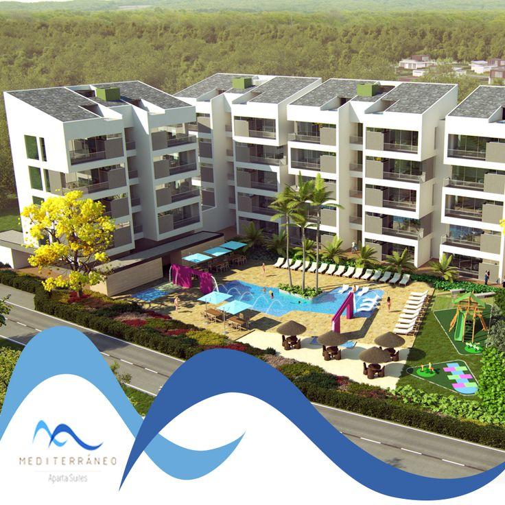 Mediterráneo Aparta Suites es un proyecto realizado en un espacio natural y tranquilo cerca de Sopetrán, San Jerónimo y Santa Fé de Antioquia.