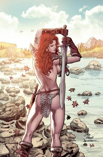 Red Sonja •Maiolo