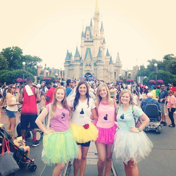 Have Bachelorette Party at Disney World. #check!