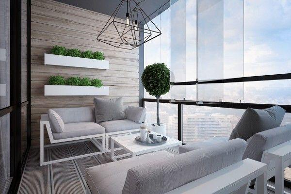 一個別緻的室內配對與自然中性的設計