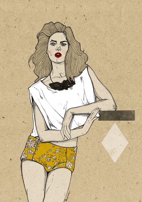 Fashion illustration by Magdalena Pankiewicz