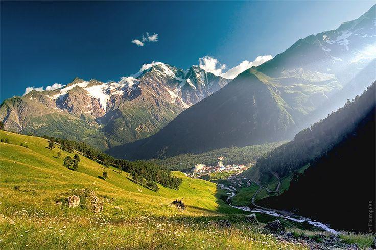 Mount Elbrus – Western Caucasus moutains