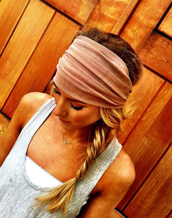 I like the thick headband not sure it would look good on me though