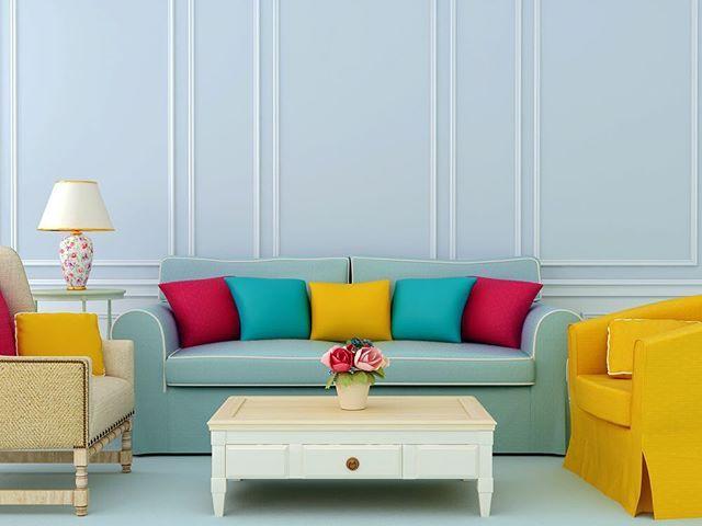 Sanki şekerden yapılmış gibi, durduk yere mutluluk veriyor bu oda insana😇 #milliyetemlak #dekorasyon #decoration #home #homedecor #homedecoration #evdekorasyonu #colorful #inspiration #milliyet