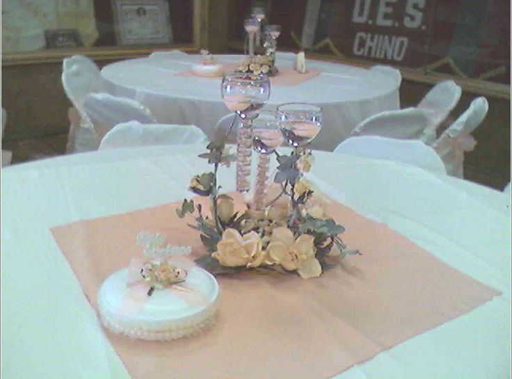 Fiestas centros de mesa para boda centro inma1 - Decoracion para mesas de centro ...