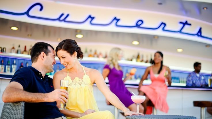 Currents Ride a wave of relaxation at this open-air bar perched high on Deck 13.  Ship Locations Disney Dream, Disney Fantasy Nightclubs & Lounges Adult Exclusive