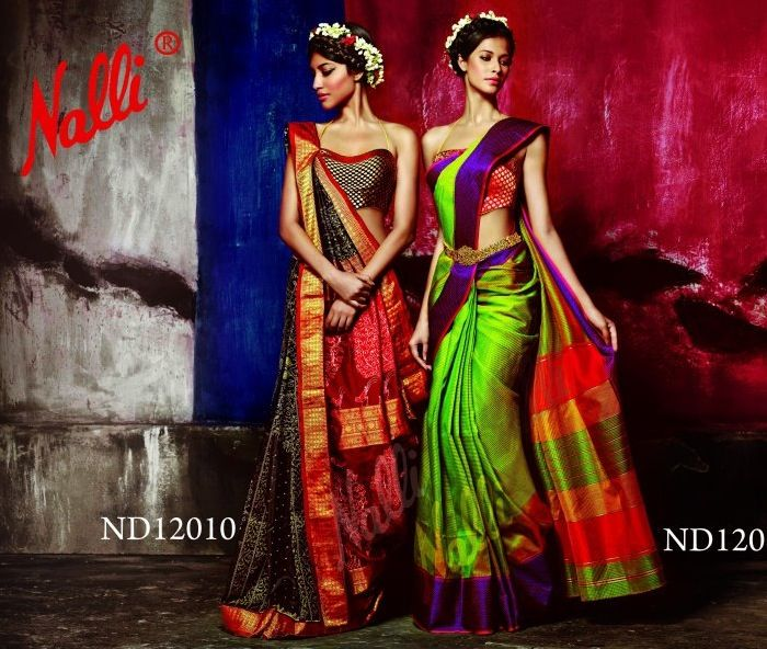 Nalli Silks Sarees.  One can never have enough of silk sarees in the closet!
