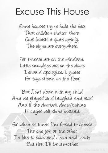 Excuse This House Printable