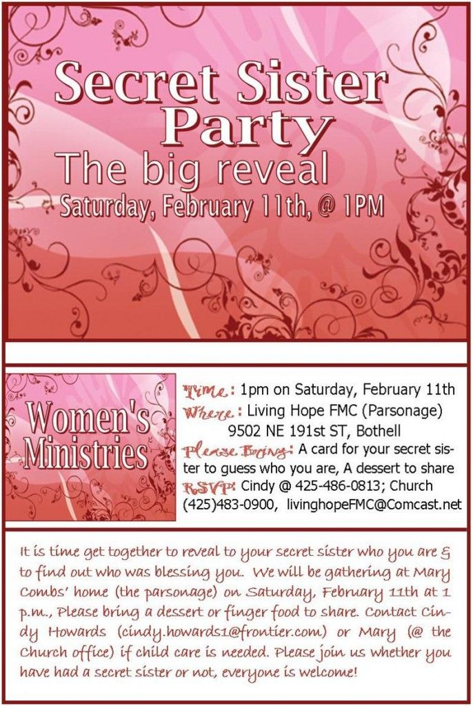 girls invitation