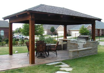 ** Outdoor kitchen ideas **