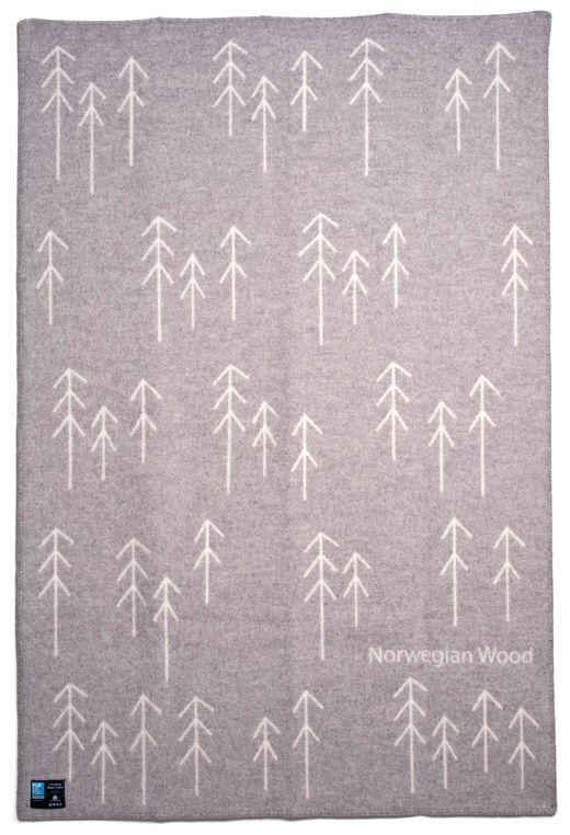 Norwegian Wool Blanket | Røros Tweed
