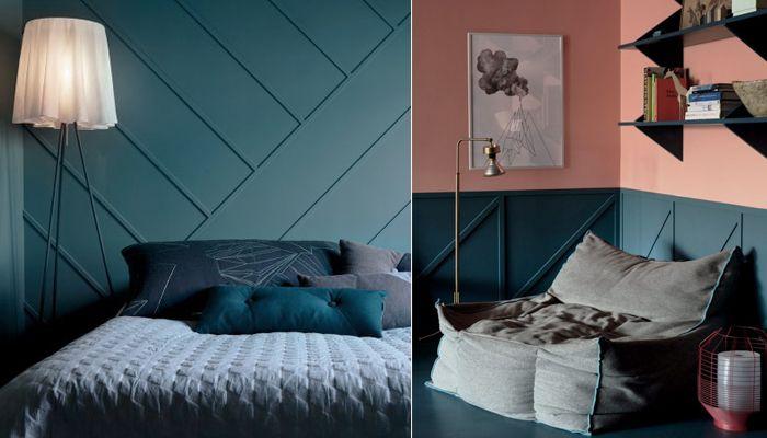 Formgivaren Daniel Heckscher har en helt unik passion för färg. I hans lägenhet uppstår ljuv musik mellan laxorange och havsgrönt.