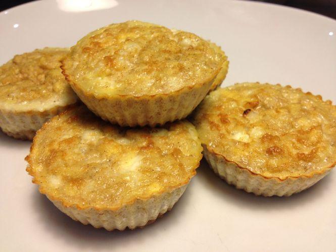 Appel - kaastaart cupcakes
