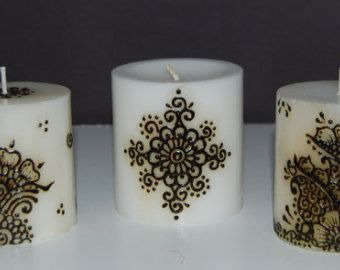Mehndi Henna Candles : Best henna candles images