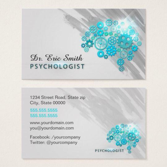 Psychologist Business Card Zazzle Com Psychologist Business Card Psychologist Business Psychology Business Card