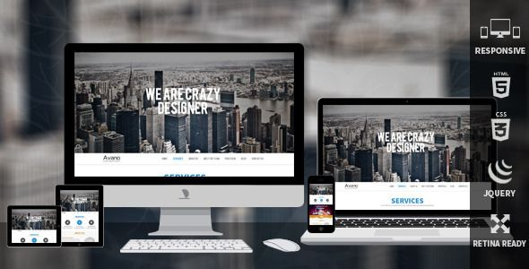 Avano One Page Responsive Template only $13 download here http://themeforest.net/item/avano-one-page-responsive-template/6047370